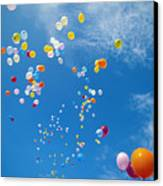 Float Away Canvas Print by Bob Abraham - Printscapes