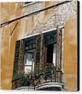 Florence Balcony Canvas Print by Jiji Lee
