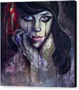 Flower Girl Canvas Print by Matt Truiano