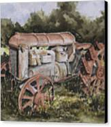 Fordson Model F Canvas Print by Sam Sidders