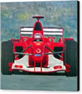 Formula 1 Canvas Print by Ken Pursley