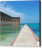 Fort Jefferson Dry Tortugas Canvas Print by Susanne Van Hulst