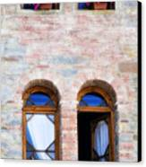 Four Windows Canvas Print by Marilyn Hunt