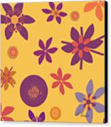 Fragrant Folly Orange Canvas Print by Ruth Palmer