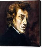 Frederic Chopin Canvas Print by Granger