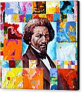 Frederick Douglass Canvas Print by John Lautermilch