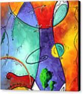 Free At Last Original Art By Madart Canvas Print by Megan Duncanson