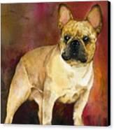 French Bulldog Canvas Print by Kathleen Sepulveda