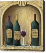 French Estate Wine Collection Canvas Print by Marilyn Dunlap