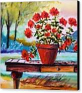 From The Potting Shed Canvas Print by John Williams