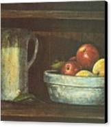 Fruit Bowl Canvas Print by Charles Roy Smith