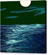 Full Moon 3 Canvas Print by Mimo Krouzian