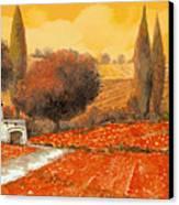 fuoco di Toscana Canvas Print by Guido Borelli