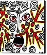 Fury Canvas Print by Sarah Loft