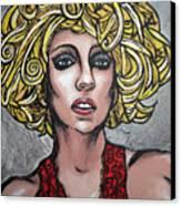 Gaga Canvas Print by Sarah Crumpler