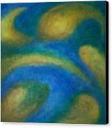 Galaxia Canvas Print by Anita Burgermeister