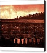 Galician Horreo Canvas Print by Xoanxo Cespon