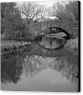 Gapstow Bridge - Central Park - New York City Canvas Print by Holden Richards