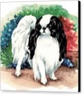 Garden Chin Canvas Print by Kathleen Sepulveda
