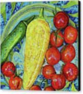 Garden Harvest Canvas Print by Shawna Rowe