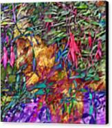 Garden Of Forgiveness Canvas Print by Kurt Van Wagner