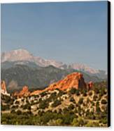 Garden Of The Gods Canvas Print by Brian Harig