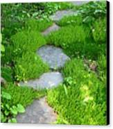 Garden Path Canvas Print by Idaho Scenic Images Linda Lantzy