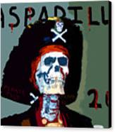 Gasparilla 2011 Work Number Two Canvas Print by David Lee Thompson