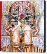 Gates Of Self-knowledge Canvas Print by Paulo Zerbato