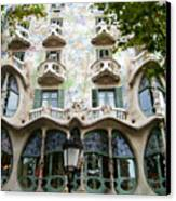 Gaudi Architecture Canvas Print by Laura Kayon