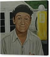 George Lindsey As Goober Canvas Print by Tresa Crain
