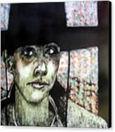 Geri Canvas Print by Chester Elmore