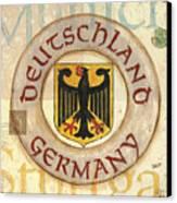 German Coat Of Arms Canvas Print by Debbie DeWitt