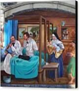 Get Well Soon ... Canvas Print by Juergen Weiss