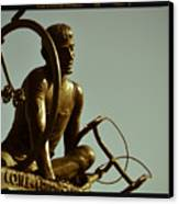 Ghisallo Statue Detail 2 Canvas Print by Chuck Parsons