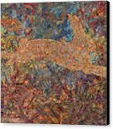 Ghost Of A Rabbit Canvas Print by James W Johnson