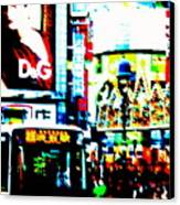 Ginza's Nights  Canvas Print by Funkpix Photo Hunter