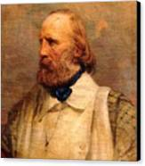 Giuseppe Garibaldi Canvas Print by Pg Reproductions