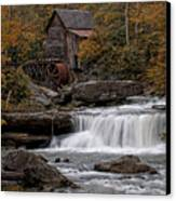 Glade Creek Mill 2011 Canvas Print by Wade Aiken