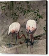 Gleaners Canvas Print by Arne Hansen