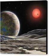 Gliese 581 C Canvas Print by Lynette Cook