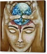 Global  Awareness Canvas Print by Paulo Zerbato