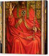 God The Father Canvas Print by Hubert and Jan Van Eyck
