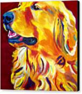 Golden - Scout Canvas Print by Alicia VanNoy Call