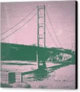 Golden Gate Bridge Canvas Print by Naxart Studio