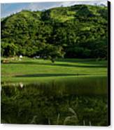 Golfito Desde La Laguna Canvas Print by Bibi Romer
