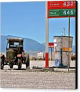 Good Bye Death Valley - The End Of The Desert Canvas Print by Christine Till