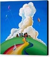 Good Day Sunshine Canvas Print by Cindy Thornton