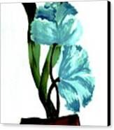 Gorgeous Flowers Canvas Print by Marsha Heiken