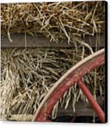 Grain Wagon Canvas Print by Robert Ponzoni